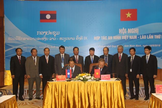 Hội nghị hợp tác an ninh Việt Nam - Lào lần thứ IX - Ảnh minh hoạ 2