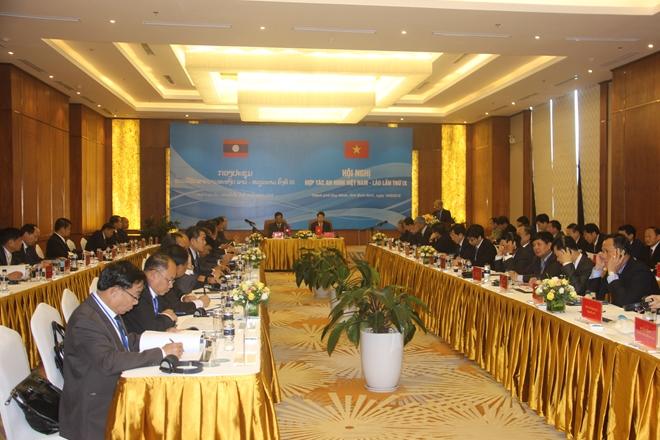 Hội nghị hợp tác an ninh Việt Nam - Lào lần thứ IX - Ảnh minh hoạ 3