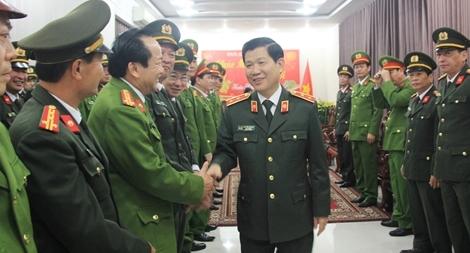 Thứ trưởng Nguyễn Văn Sơn thăm, kiểm tra công tác tại Công an TP. Đà Nẵng