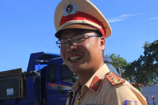 CSGT Đà Nẵng đảm bảo ATGT giữa trời