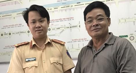 Người dân viết thư cảm ơn tinh thần vì nhân dân phục vụ của CSGT Đà Nẵng