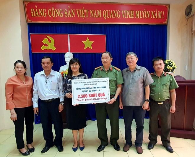 Ủng hộ 500 triệu đồng hỗ trợ người dân vùng ngập lụt miền Trung - Ảnh minh hoạ 2
