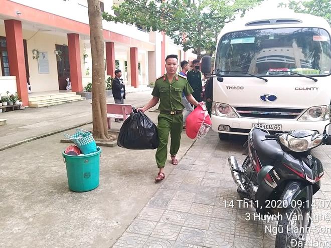 Công an Đà Nẵng giúp dân ven biển, vùng trũng thấp sơ tán đến nơi trú bão an toàn - Ảnh minh hoạ 5