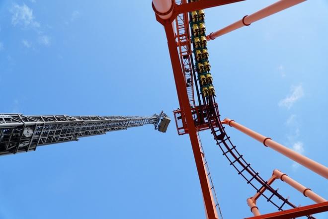 Diễn tập cứu nạn ở điểm vui chơi cao 40m - Ảnh minh hoạ 4