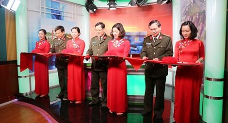 Khánh thành Studio Phát thanh – Truyền hình An ninh Nghệ An