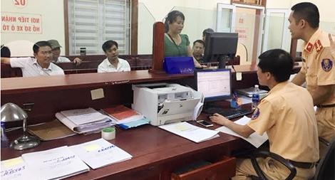 Phòng PC67 Công an Nghệ An làm theo lời Bác dạy