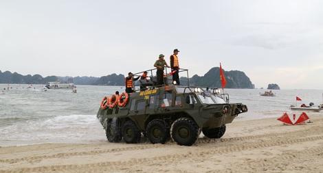 Diễn tập phương án phòng, chống thiên tai và đảm bảo ANTT tại khu vực Đông Bắc