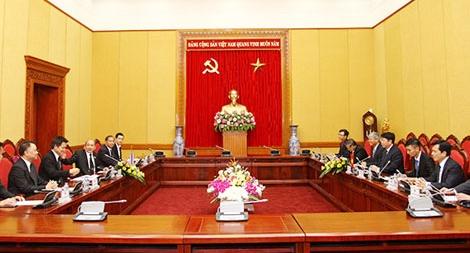Tăng cường hợp tác giữa Bộ Công an Việt Nam và Hội đồng An ninh Thái Lan