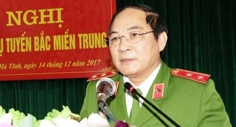 Giao ban lực lượng Cảnh sát ma túy các tỉnh Bắc Miền Trung