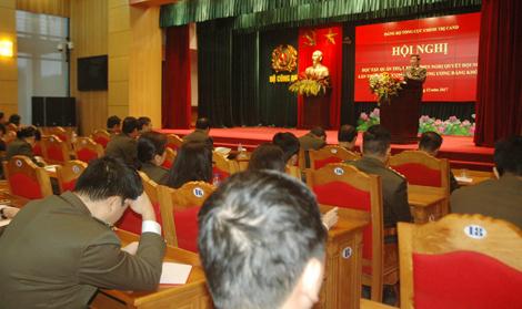 Đảng bộ Tổng cục Chính trị CAND quán triệt Nghị quyết Hội nghị TƯ 6 (khóa XII) - Ảnh minh hoạ 4