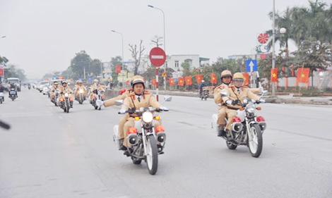 Ra quân thực hiện cao điểm đảm bảo trật tự an toàn giao thông - Ảnh minh hoạ 3