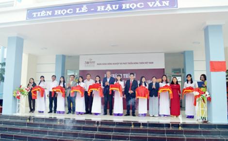 Khánh thành Trường Tiểu học Ninh Chữ do Agribank tài trợ
