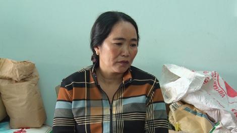 Đối tượng Lê Thị Trúc Sinh.