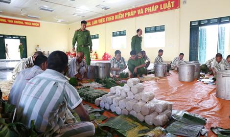 Trại giam Đắk P'lao tổ chức cho phạm nhân vui Xuân đón Tết - Ảnh minh hoạ 2