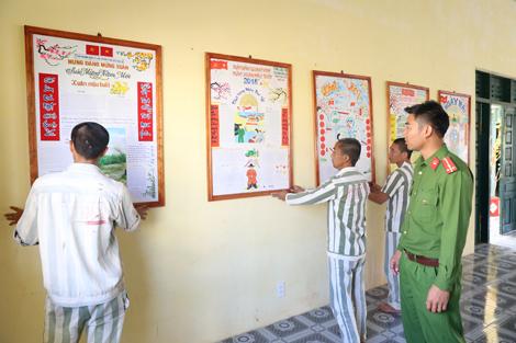 Trại giam Đắk P'lao tổ chức cho phạm nhân vui Xuân đón Tết - Ảnh minh hoạ 4
