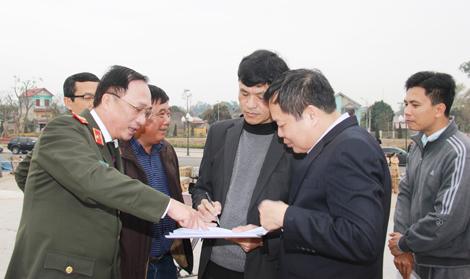 Thứ trưởng Nguyễn Văn Thành kiểm tra tiến độ công trình Khu lưu niệm 6 điều Bác Hồ dạy CAND - Ảnh minh hoạ 2
