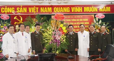 Tổng cục Chính trị CAND chúc mừng 63 năm Ngày Thầy thuốc Việt Nam 27-2