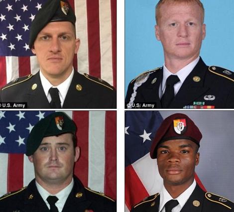 4 quân nhân Mỹ thiệt mạng trong vụ tấn công