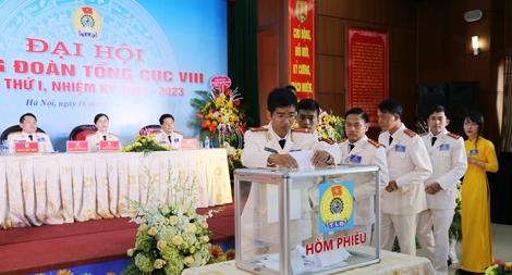 Đại hội Công đoàn Tổng cục Cảnh sát thi hành án hình sự và hỗ trợ tư pháp