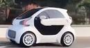 Cận cảnh xe hơi điện sản xuất bằng công nghệ in 3D