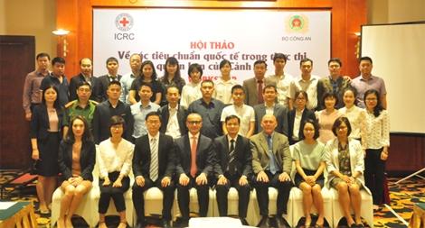 Hội thảo về các tiêu chuẩn quốc tế trong thực thi quyền hạn của cảnh sát