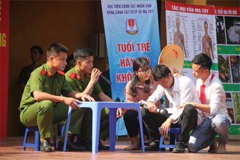 Học viện CSND tuyên truyền pháp luật về ma túy cho học sinh - Ảnh minh hoạ 4