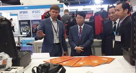 Lãnh đạo Bộ Công an tham dự  Hội nghị Quốc phòng châu Á
