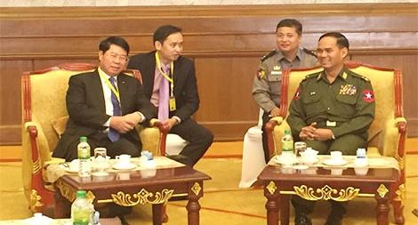 Đối thoại an ninh cấp Thứ trưởng lần thứ 6  giữa Bộ Công an Việt Nam và Bộ Nội vụ Myanmar