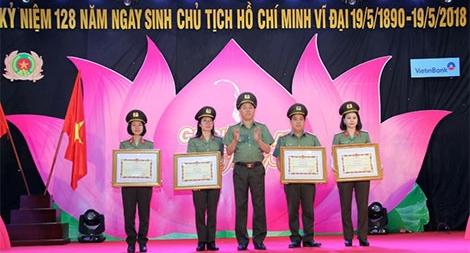Tổng cục Hậu cần – Kỹ thuật kỷ niệm 128 năm Ngày sinh Chủ tịch Hồ Chí Minh