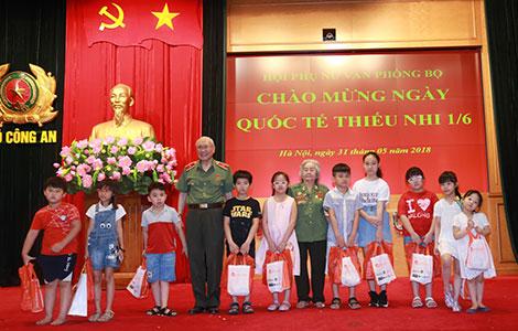 Văn phòng Bộ Công an kỷ niệm Ngày Quốc tế Thiếu nhi 1-6 - Ảnh minh hoạ 2
