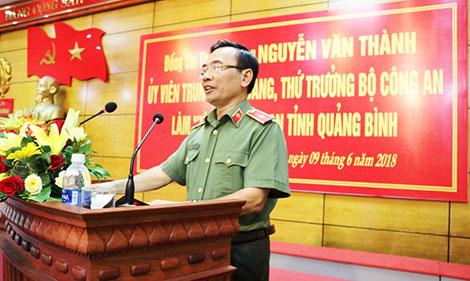 Thứ trưởng Nguyễn Văn Thành làm việc với Công an Quảng Bình - Ảnh minh hoạ 2