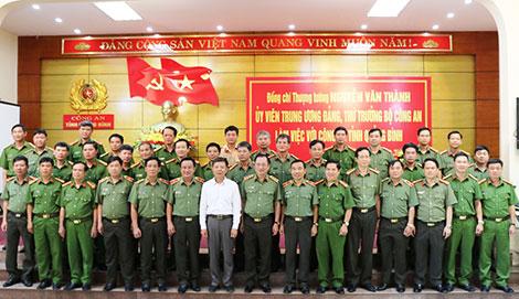 Thứ trưởng Nguyễn Văn Thành làm việc với Công an Quảng Bình - Ảnh minh hoạ 4