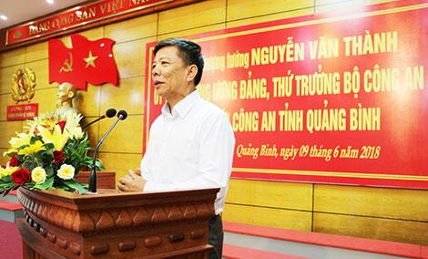 Thứ trưởng Nguyễn Văn Thành làm việc với Công an Quảng Bình - Ảnh minh hoạ 3