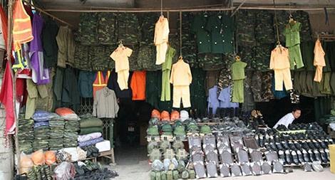 Tăng cường đấu tranh, xử lý với hoạt động mua bán, sử dụng trái phép quân trang, quân dụng, công cụ hỗ trợ ngành Công an
