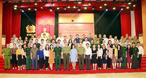 Bộ Công an gặp mặt Lớp Bồi dưỡng kiến thức Quốc phòng, An ninh