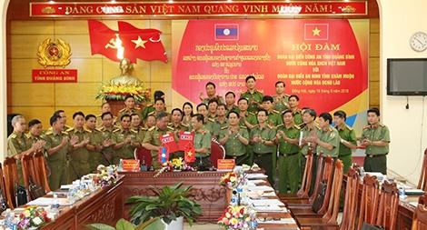 Ký kết biên bản về công tác đảm bảo an ninh biên giới Việt – Lào