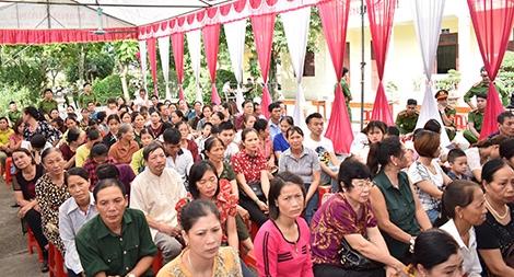 Trại giam Ninh Khánh tổ chức Hội nghị gia đình phạm nhân 2018