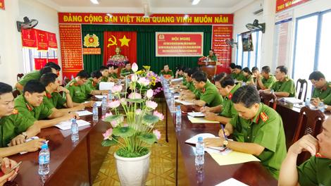 Phát huy vai trò Công an chính quy khi đảm nhận các chức danh Công an xã