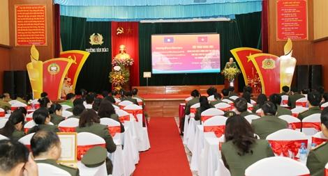 Không ngừng nâng cao chất lượng đào tạo cho học sinh Bộ An ninh Lào