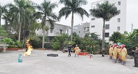 Tập huấn nâng cao năng lực cho đội ngũ làm công tác Phòng cháy chữa cháy