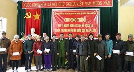 Mang Xuân sớm đến với người nghèo biên giới Lạng Sơn