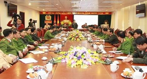 Thứ trưởng Nguyễn Văn Sơn kiểm tra công tác đảm bảo ANTT các địa phương