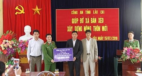 Hỗ trợ mua sắm trang thiết bị cho xã nghèo ở Lào Cai