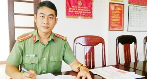 Đại úy Trần Bá Nghĩa, người say mê sáng tạo khoa học