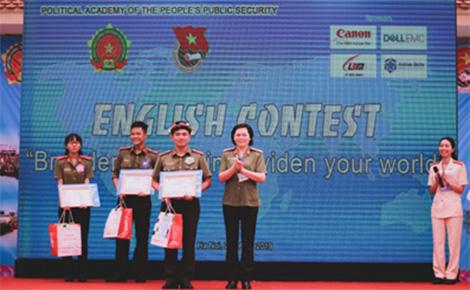 Học viện Chính trị CAND tổ chức cuộc thi Olympic Tiếng Anh - Ảnh minh hoạ 3
