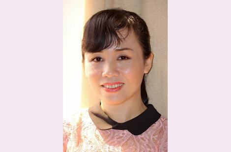 Nhà văn Nguyễn Hương Duyên.