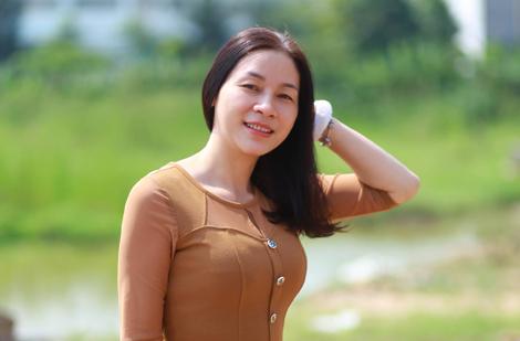 Nhà văn Nguyễn Thị Lê Na.