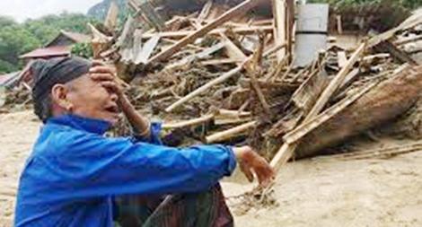 Báo CAND và nhà hảo tâm ủng hộ người dân bị thiệt hại ở Thanh Hoá 92 triệu đồng