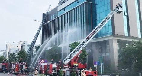 Sẵn sàng cho diễn tập chữa cháy, cứu nạn cứu hộ cấp quốc gia