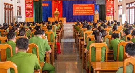 Công an Kon Tum kỷ niệm 50 năm thực hiện Di chúc của Chủ tịch Hồ Chí Minh